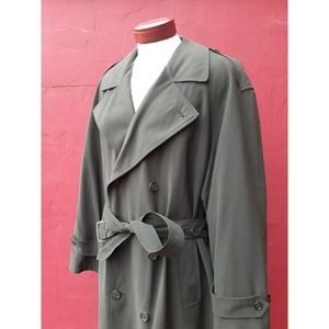 Brook's Brothers Wool Lined Trench Coat Gift